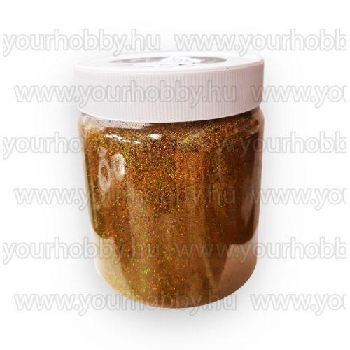 Glitterpor 300g irrizáló arany