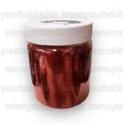 Glitterpor 300g piros