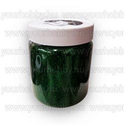 Glitterpor 300g zöld