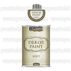 Dekor Paint Soft lágy dekorfesték 15 színben 1000 ml - krémfehér
