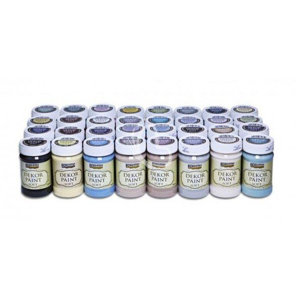 Pentart Dekor Paint Soft lágy dekorfesték 100 ml - lila