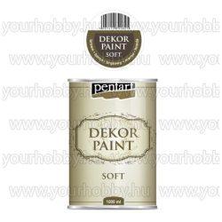 Dekor Paint Soft lágy dekorfesték 15 színben 1000 ml - barna
