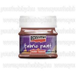 Pentart Textilfesték 50 ml - Sötétbarna