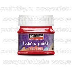 Pentart Textilfesték 50 ml - Piros