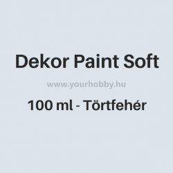 Pentart Dekor Paint Soft lágy dekorfesték 100 ml - törtfehér