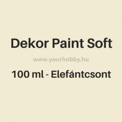 Pentart Dekor Paint Soft lágy dekorfesték 100 ml - elefántcsont