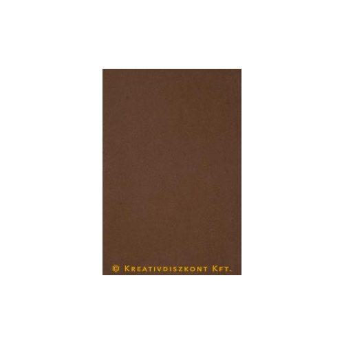 Dekorgumi 20 x 29 cm-es, 12 színben, barna