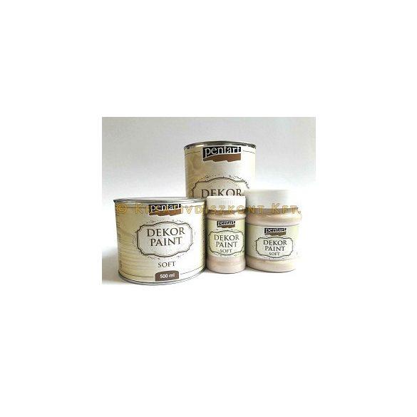 Pentart Dekor Paint Soft lágy dekorfesték 230 ml - zuzmózöld