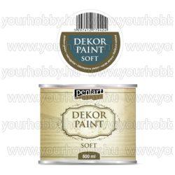 Pentart Dekor Paint Soft lágy dekorfesték 500 ml - méregzöld