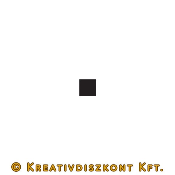 Pentart Matt akrilfesték 50 ml - Fekete