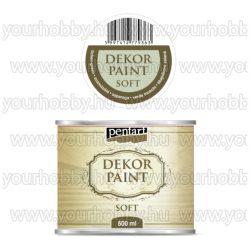 Pentart Dekor Paint Soft lágy dekorfesték 500 ml - zuzmózöld