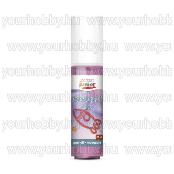 Pentart Üvegmatrica festék 20 ml - Magenta