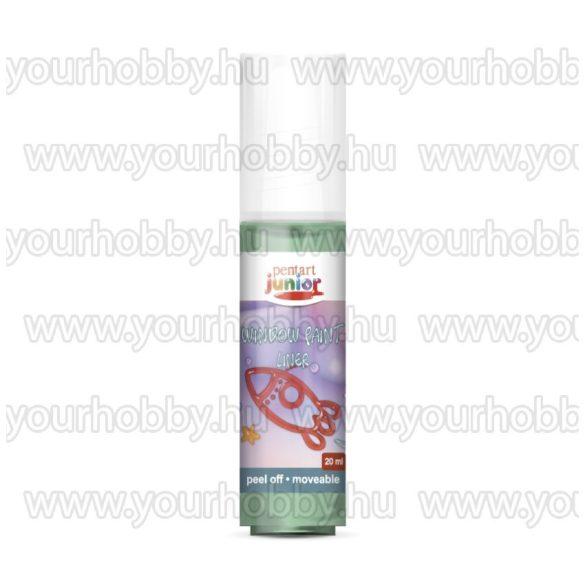 Pentart Üvegmatrica festék 20 ml - Világoszöld