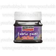 Textilfesték 25 szín 50 ml fekete