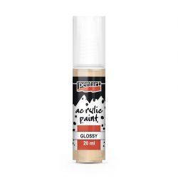 Pentart Fényes akrilfesték 20 ml - Púderszín