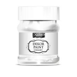 Pentart Dekor Paint Soft lágy dekorfesték 230 ml - fehér