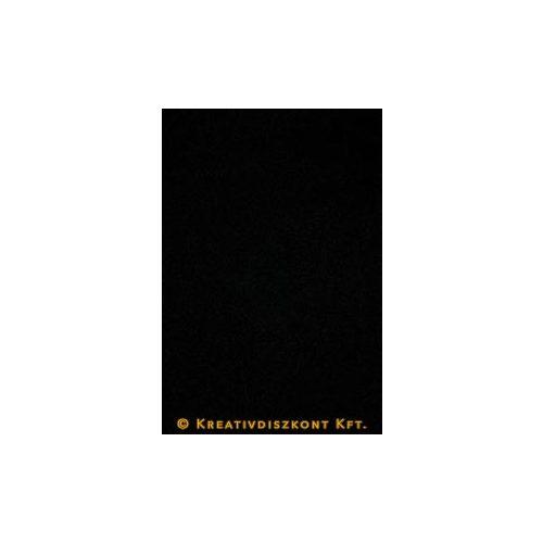 Dekorgumi 20 x 29 cm-es, 12 színben, fekete