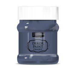 Pentart Dekor Paint Soft lágy dekorfesték 230 ml - indigó