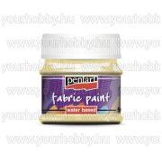 Pentart Textilfesték 50 ml - Vanília