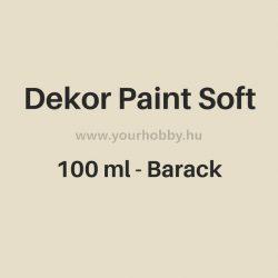 Pentart Dekor Paint Soft lágy dekorfesték 100 ml - barack