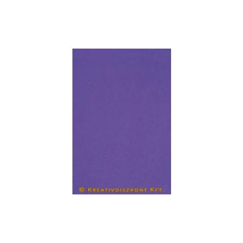 Dekorgumi 20 x 29 cm-es, 12 színben, lila