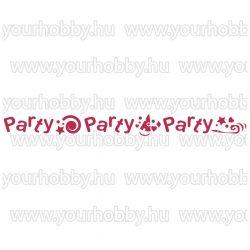 Stamperia Stencil 60x7 cm Party KSE147