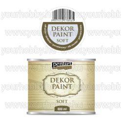 Pentart Dekor Paint Soft lágy dekorfesték 500 ml - törtfehér