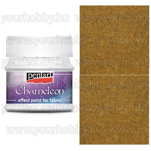Pentart Textilfesték kaméleon 50 ml - Arany