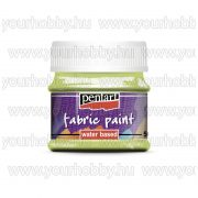 Pentart Textilfesték 50 ml - Limetta