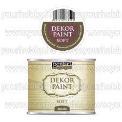 Pentart Dekor Paint Soft lágy dekorfesték 500 ml - burgundi vörös