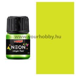 Pentart Neon akrilfesték 30 ml - Sárga