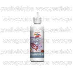 Lehúzható üvegfesték 13 szín 80 ml - fehér