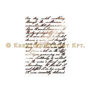 Stamperia Stencil 21x29,7 cm Kalligráfia KSG321