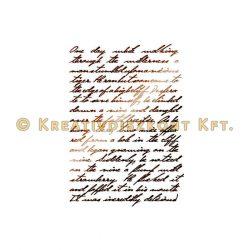 Stamperia Stencil 21x29,7 cm - Kalligráfia KSG321
