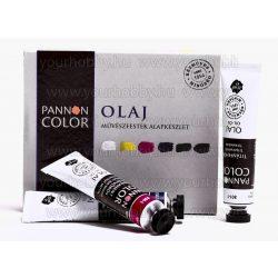 Pannoncolor olajfesték készlet alpkészlet 6x22 ml
