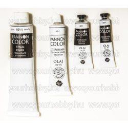Pannoncolor olajfesték, titánfehér 80 ml
