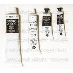 Pannoncolor olajfesték titánfehér 38ml
