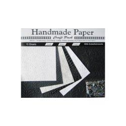 Cre Art kézzel gyártott kreatív papír 10ív/csomag