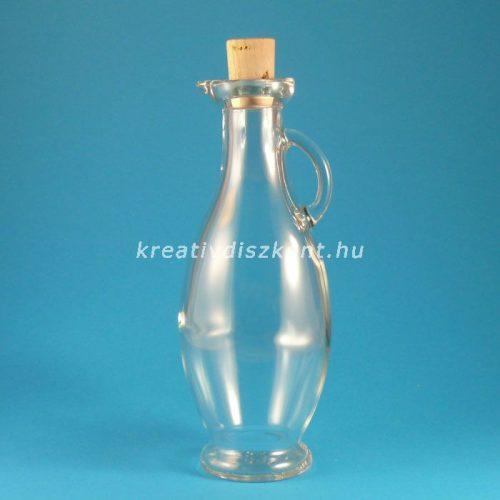 Kancsó díszüveg ( kicsi ) , 250 ml -es