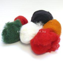 Gyapjú 17 színben 50 g - natúr
