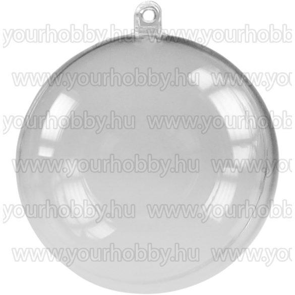 Karácsonyi akrilgömb 3 méretben 5 cm-es