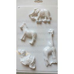 Gipszkiöntő forma, Afrikai állatok 4
