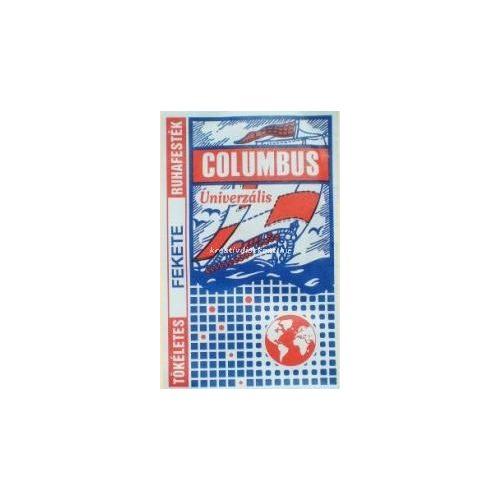 Columbus Ruhafesték 5 g/csomag - citromsárga
