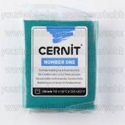 Cernit süthető gyurma N°1, 56 g - fenyőzöld C662