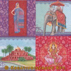 Szalvéta India nevezetességek