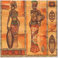 Szalvéta Afrikai asszonyok