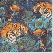 Szalvéta Tigrisek az erdőben
