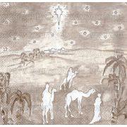 Szalvéta, Karácsonyi, Három királyok