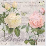 Szalvéta Rózsák hangjegyekkel