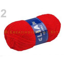 Kötőfonal 50 g Elian Mimi több színben - piros